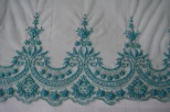 blue french lace